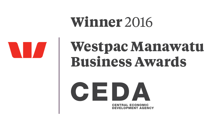 Winner 2016 Westpac Manawatu Business Awards