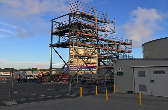 Open Country Dairy scaffold